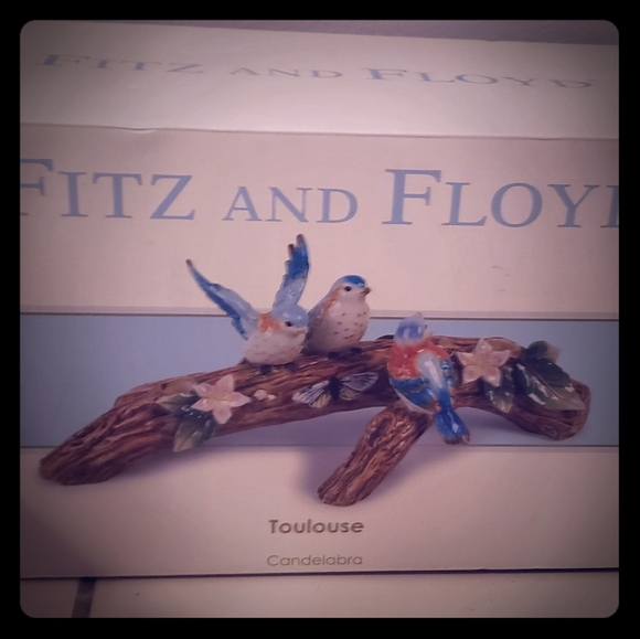 Fitz And Floyd Accents Toulouse Candelabra Poshmark